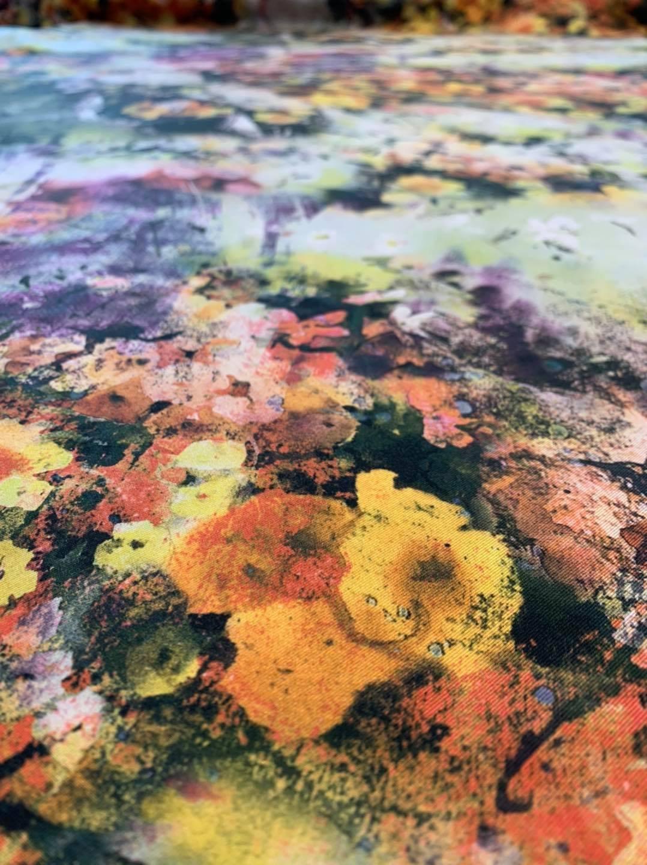 Color Garden Silk Twill