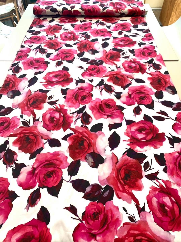 Hopeless Romance Stretch Cotton