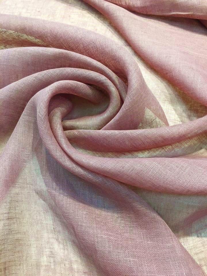 Mulberry Linen Gauze