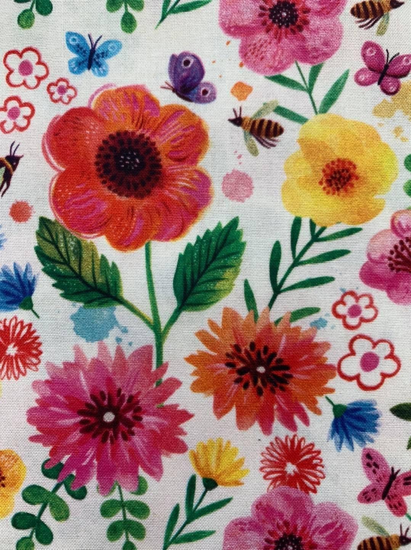 Flower Garden Quilt Cotton