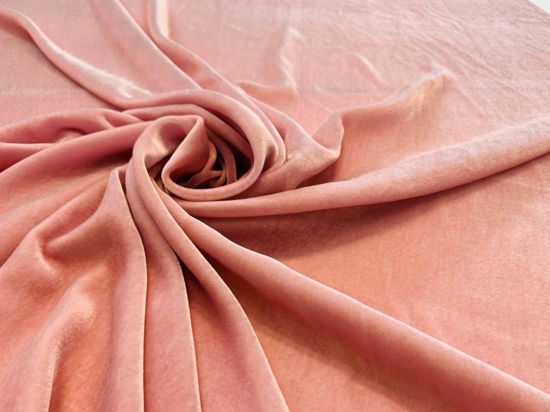 Pink Silk Velvet