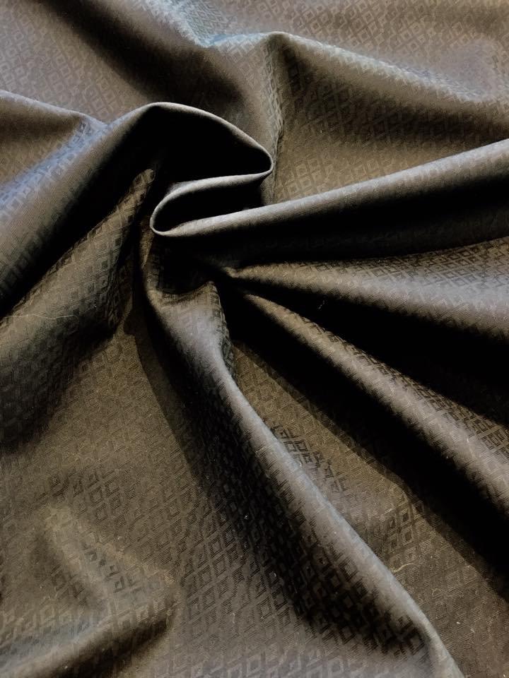 Black Diamonds on Black Shirting