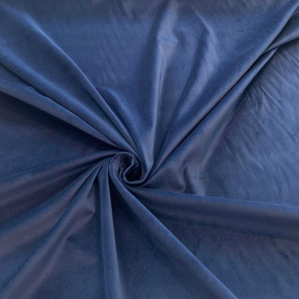 Cobalt Blue Velveteen