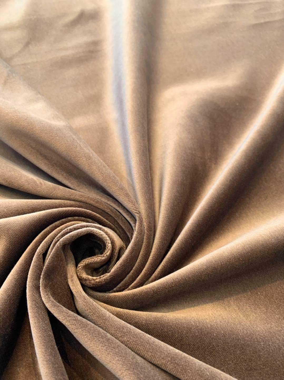 Sable Brown Velvet