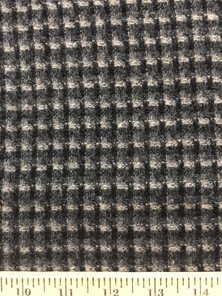 Matrix Black and Grey Wool