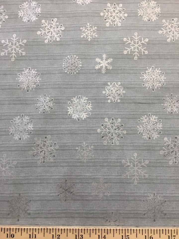 Silver Snowflakes