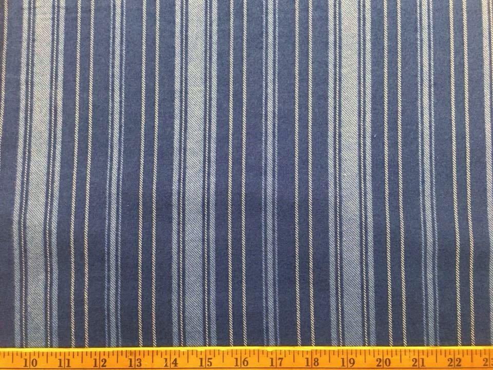 A Winters Tale Striped Flannel