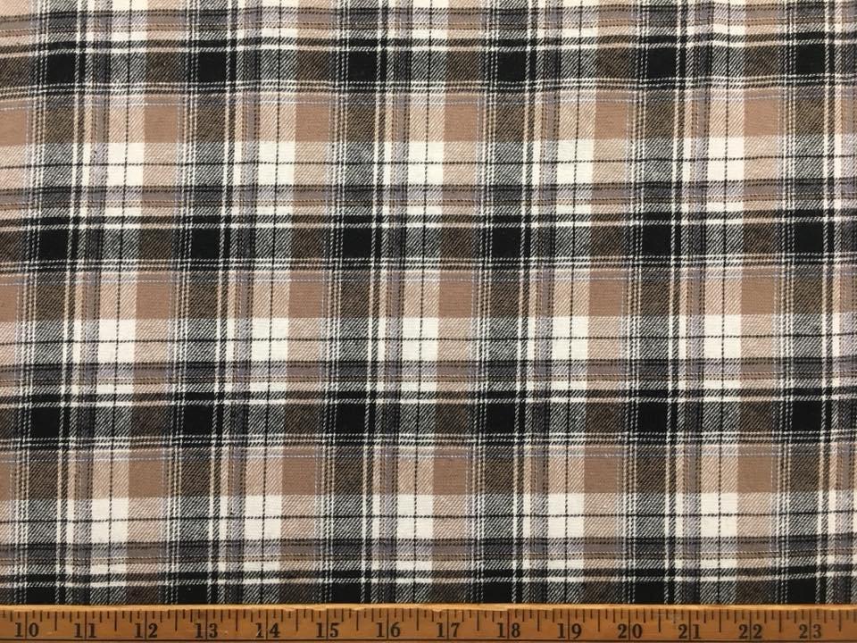 Payton Plaid Cotton Flannel