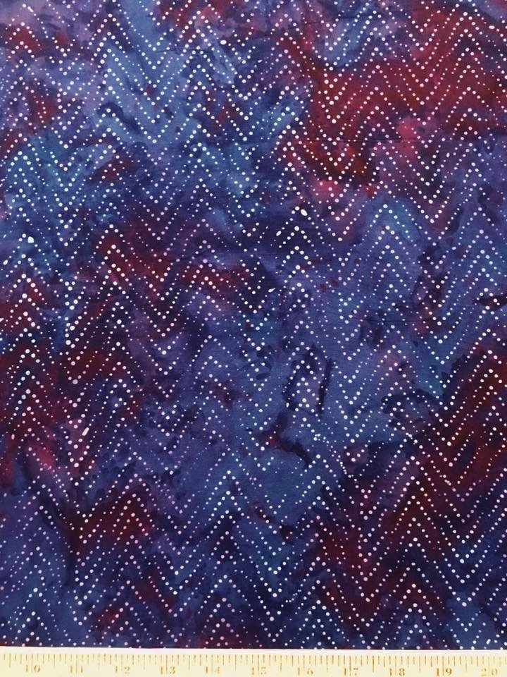 Legend Blue Rayon Batik