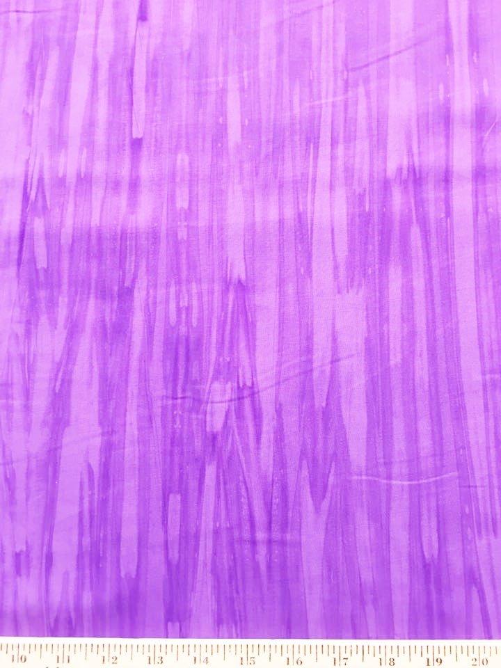 Purple Rayon Batik