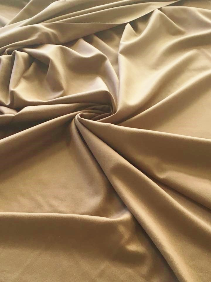 Camel Colored Cashmere Silk Blend