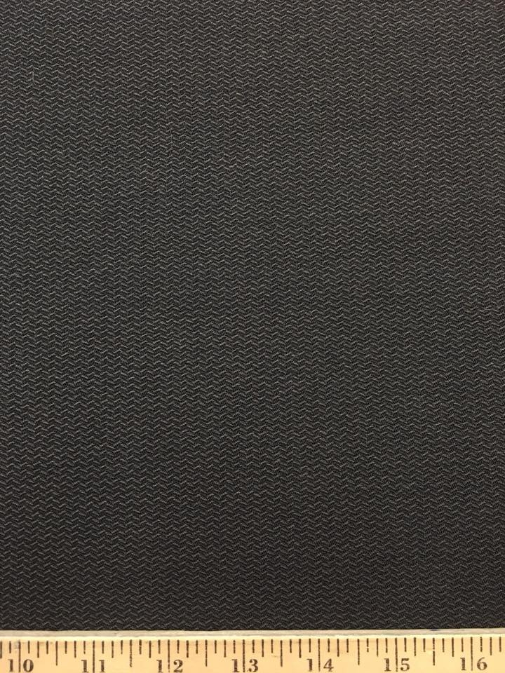 Novelty Weave Textural Wool in Dark Taupe Grey