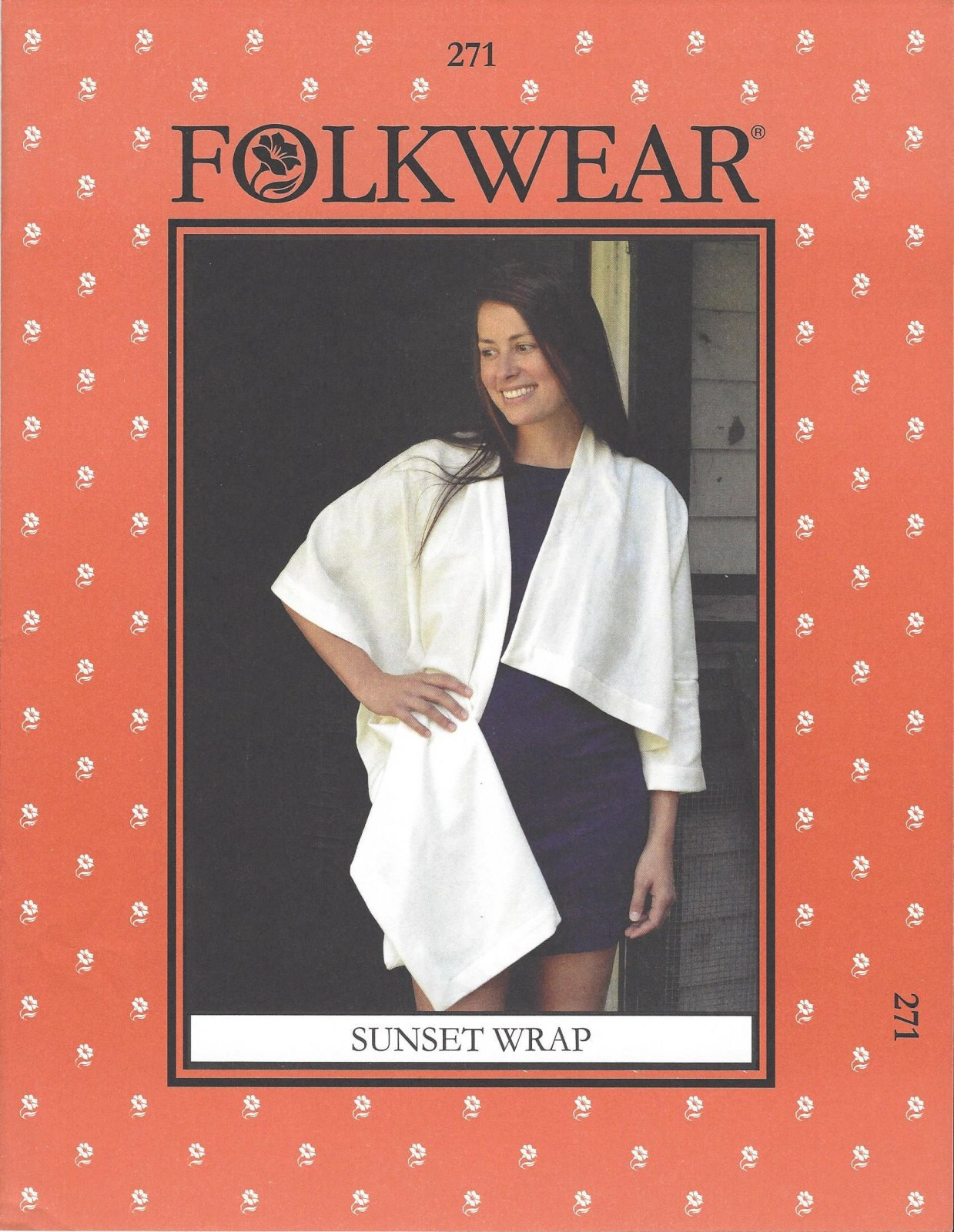 Sunset Wrap Pattern by Folkwear