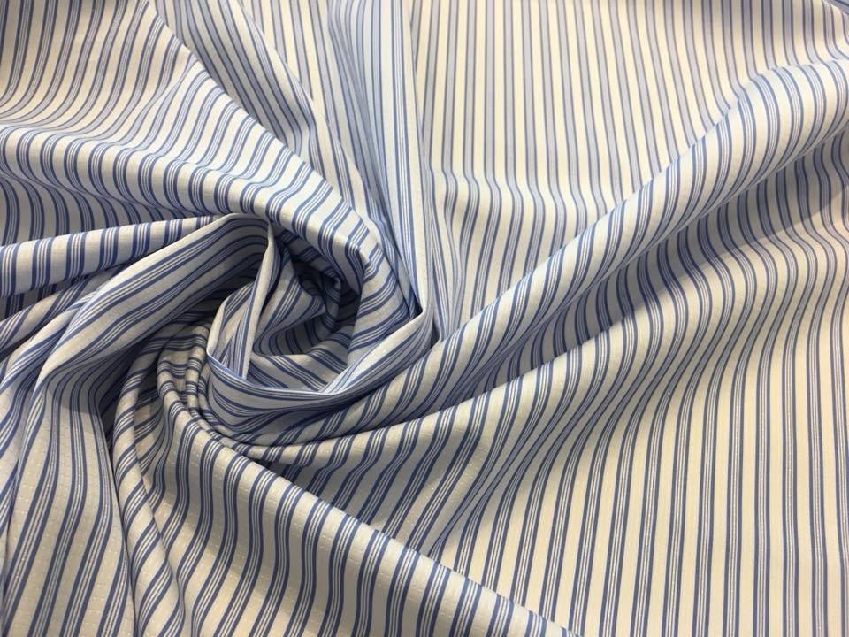 Quad Blue Stripe