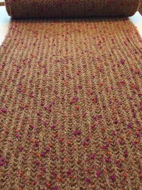 Oatmeal Chanel Chunky Knit