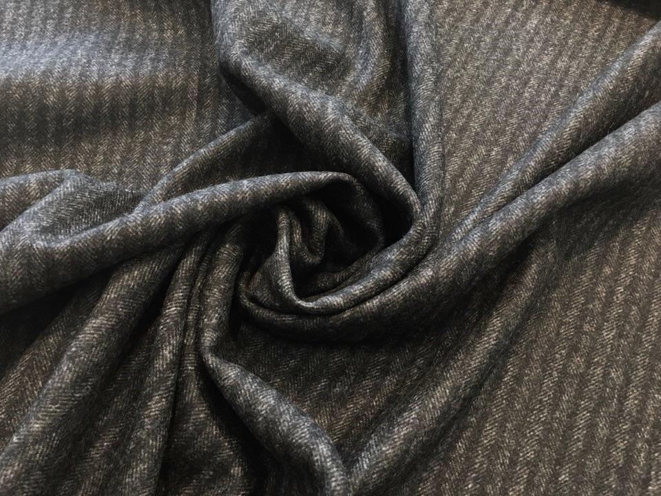 Reversible Herringbone Cashmere