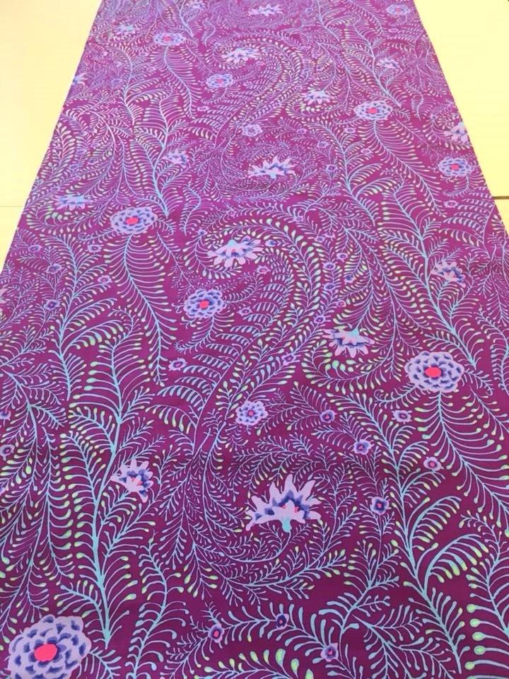 Ferns in Purple