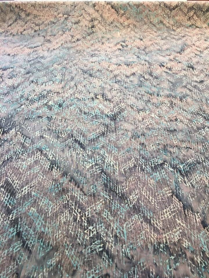 Cave Grey Rayon Batik