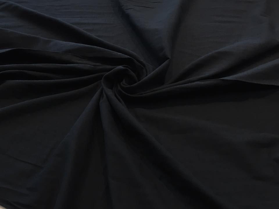 Black Double Gauze