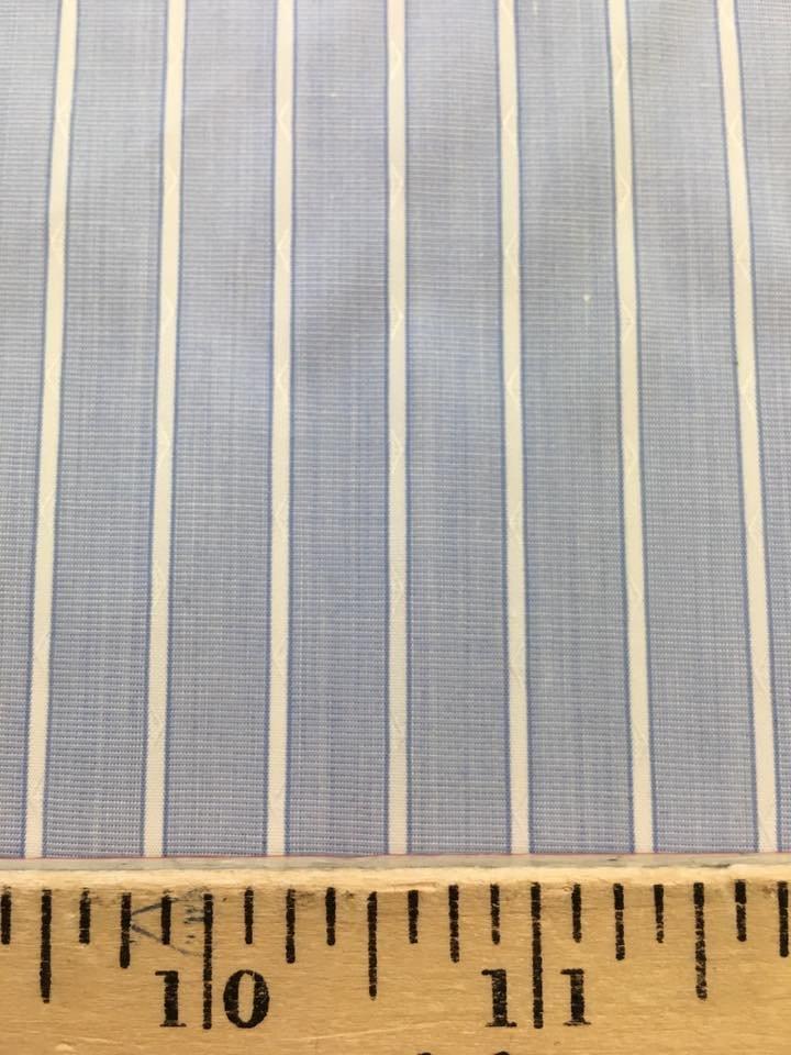 White Triangle Jacquard Stripe.