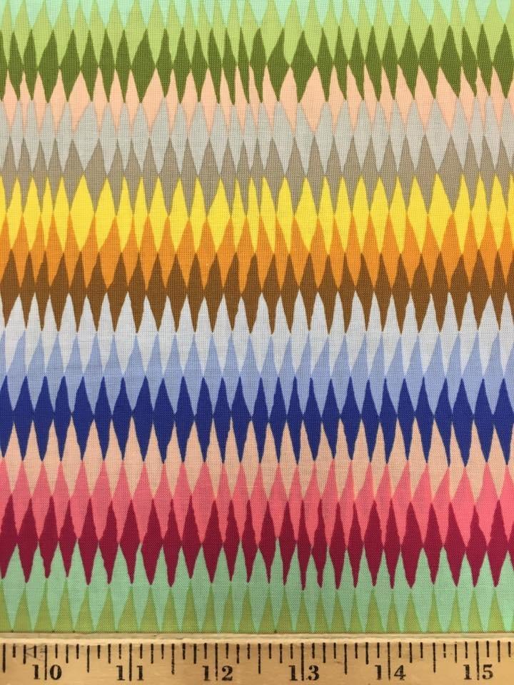 Diamond Stripe in Multi