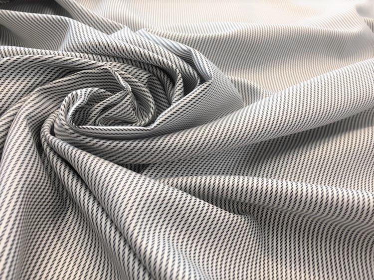 Stripe Dash in Black and White