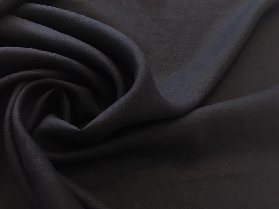 Black Italino Linen