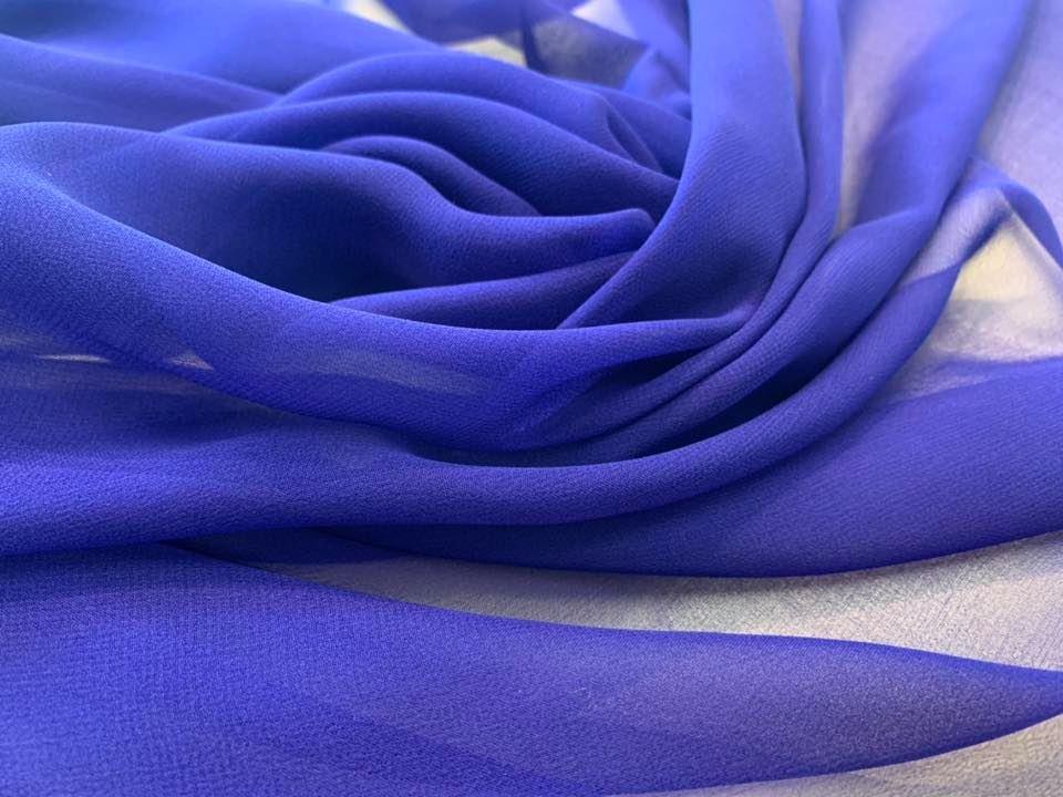 Ultramarine Chiffon