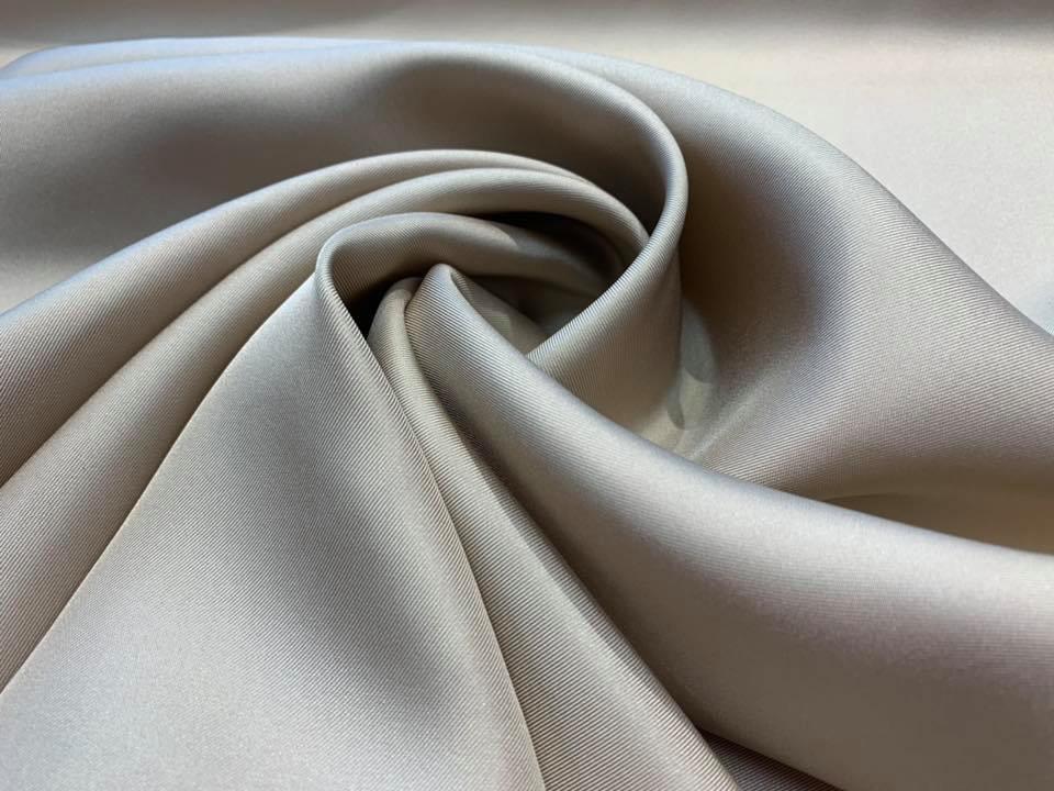 Buff Silk Twill