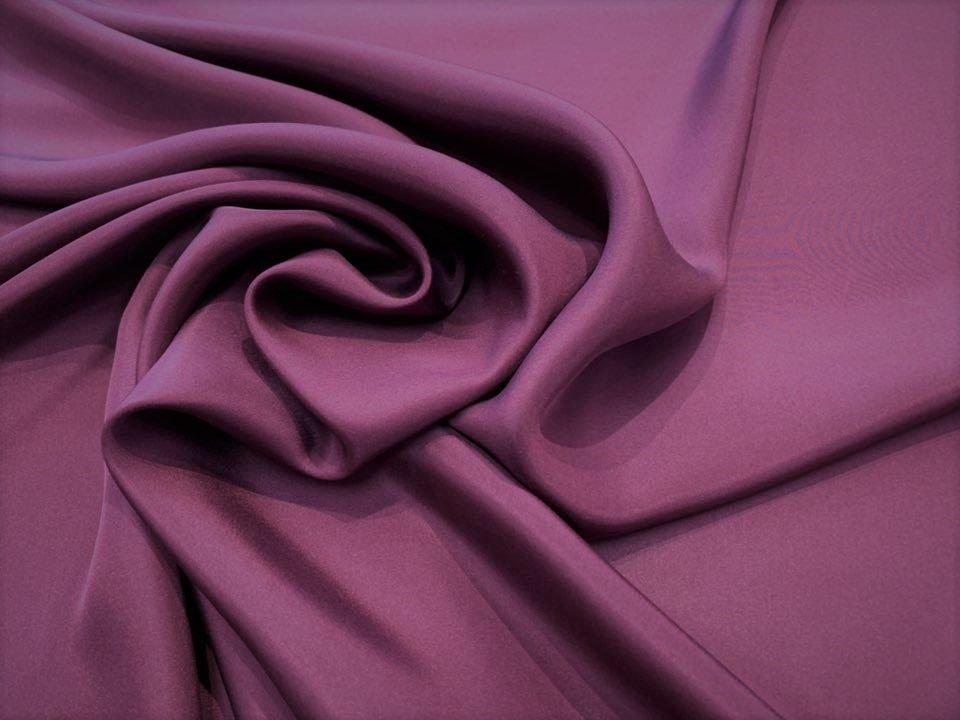 Plum Heavier China Silk