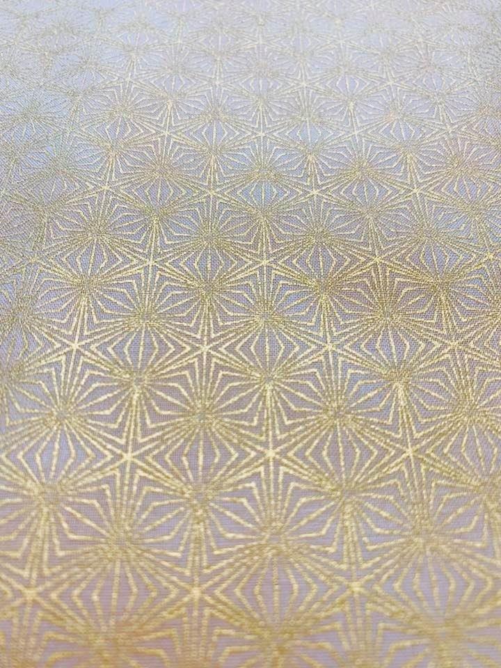 Gold Geometric on Gold