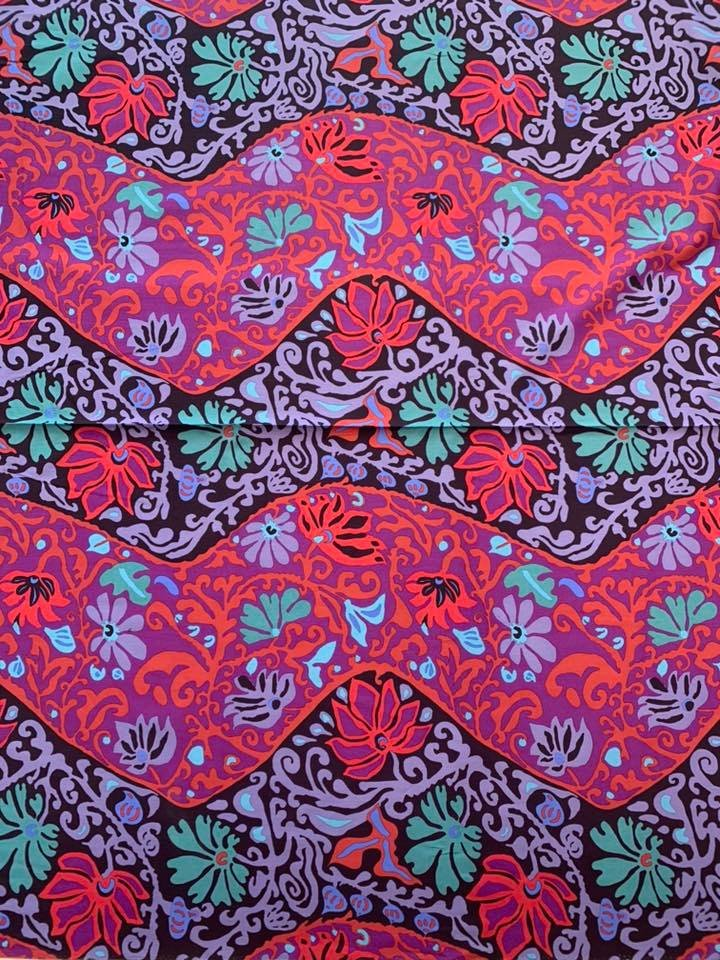 Bali Brocade in Purple