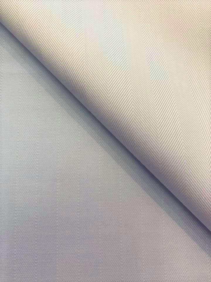 Reversible Blue Herringbone