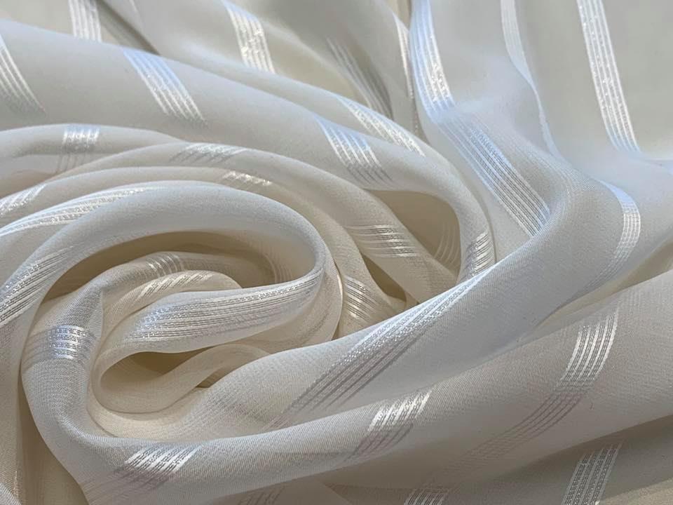 White Ribbon Chiffon