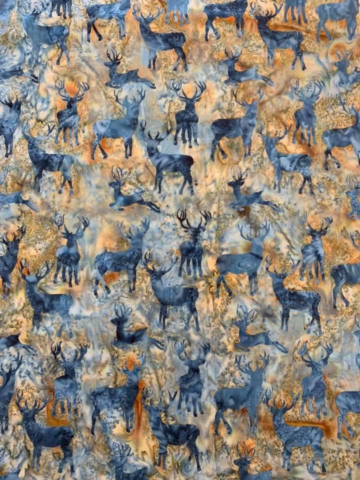 Deer in color Lagoon