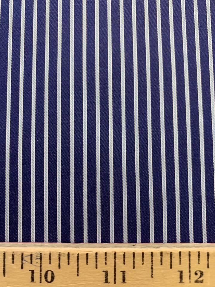 Dark Blue Cable Stripe