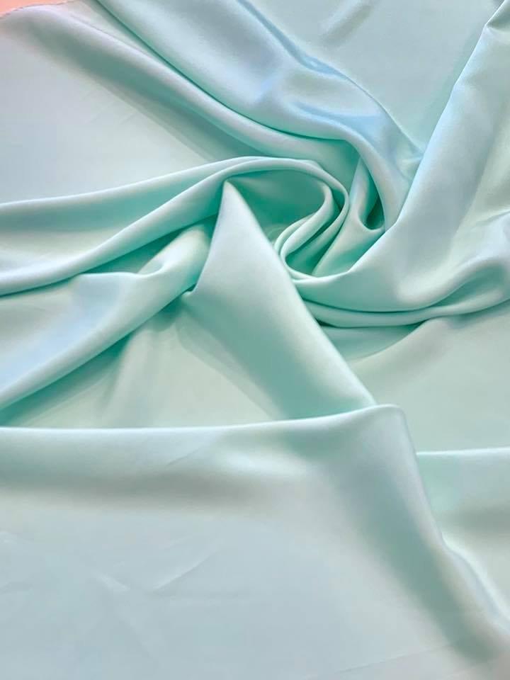 Seafoam 4 Ply Crepe Silk