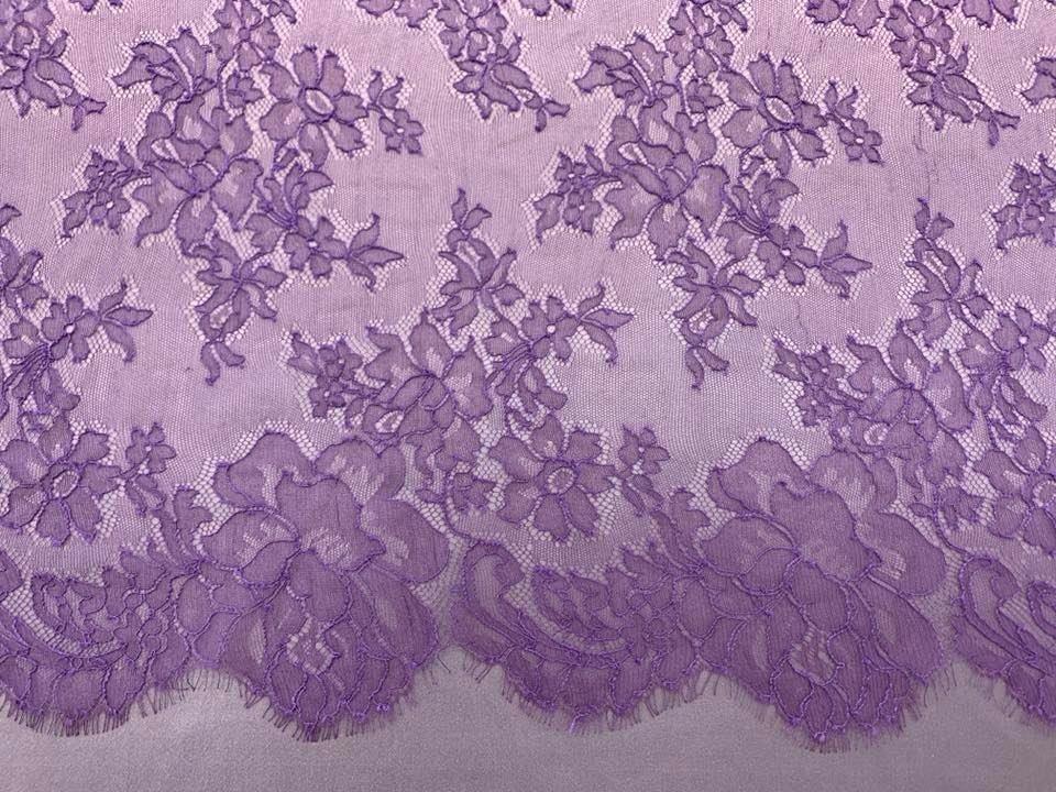 Purple Chantilly Lace