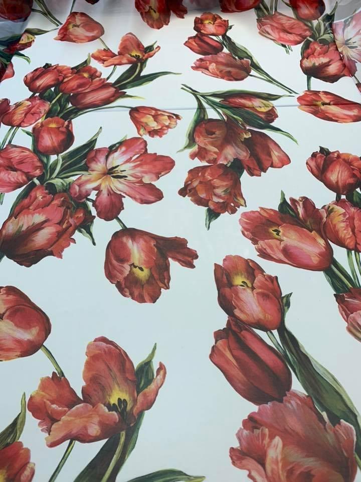 Chiffon Tulips