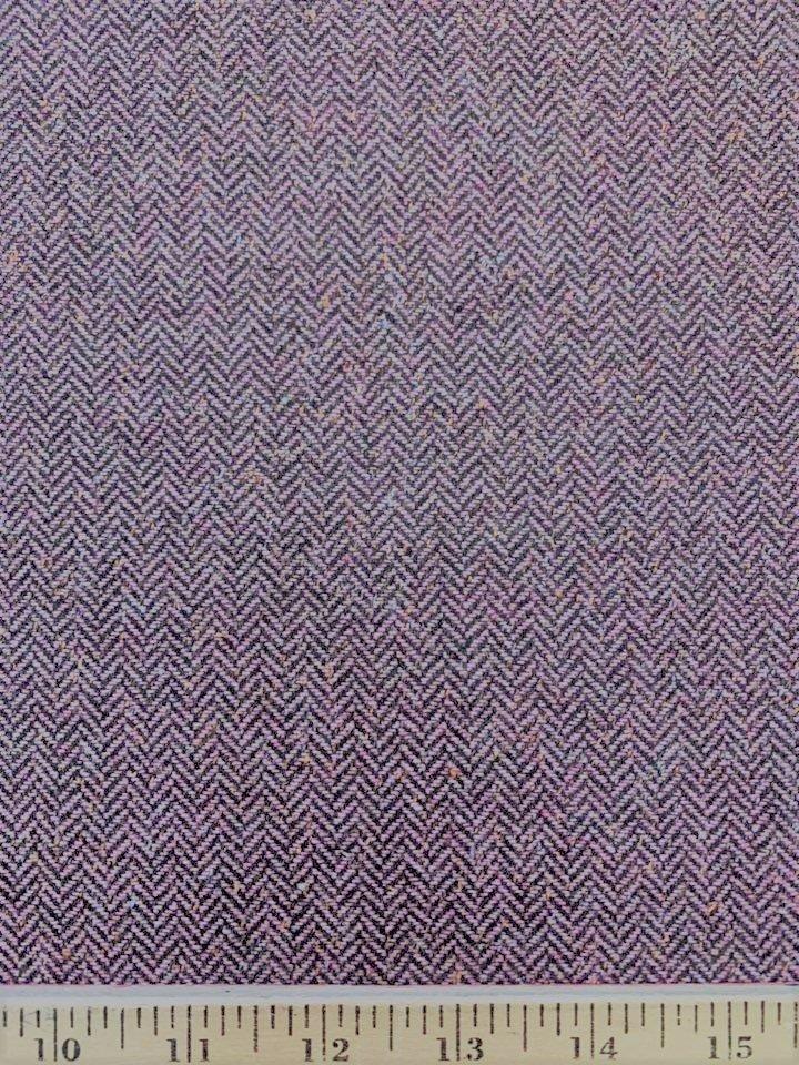 Dusty Rose Tweed Herringbone