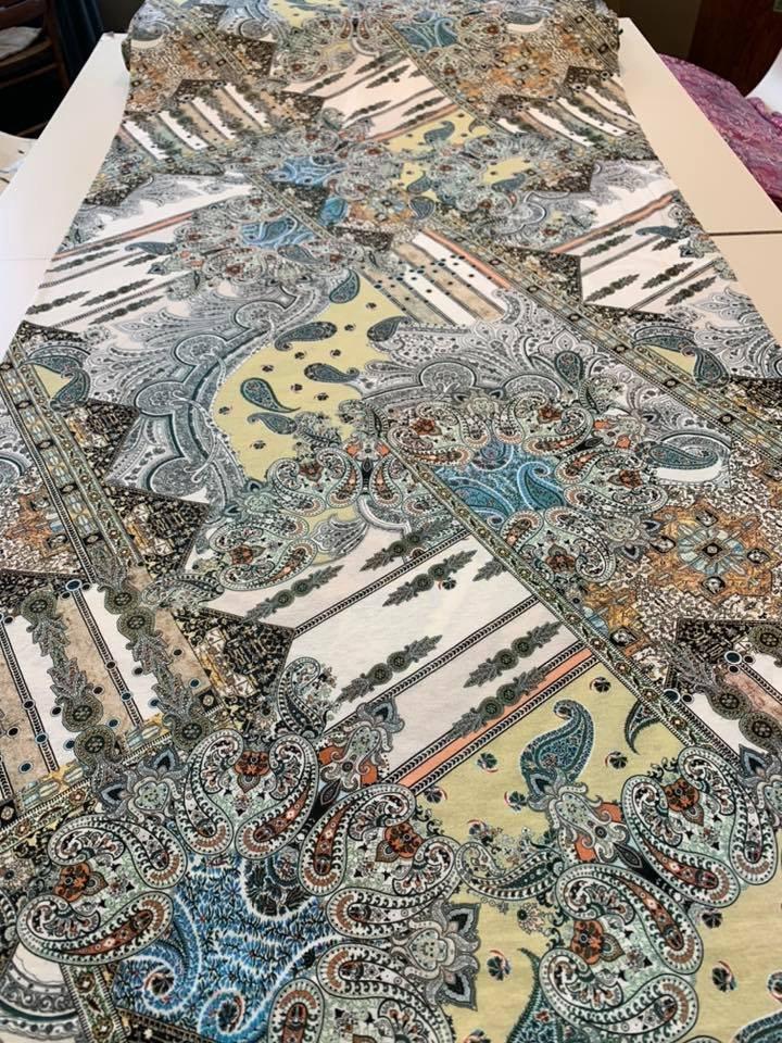 Persian Glass Rayon Knit