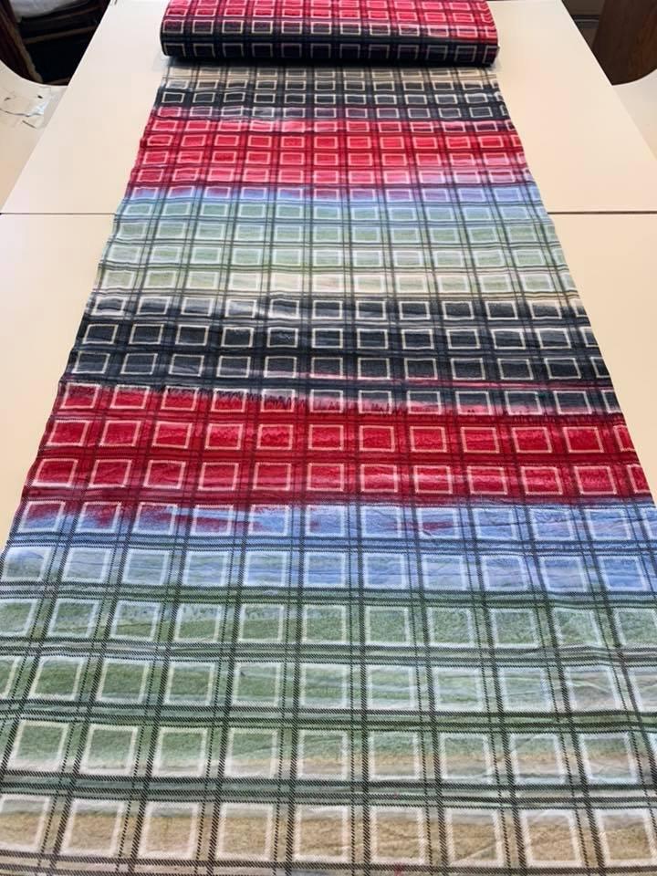 Stripe Plaid Batik