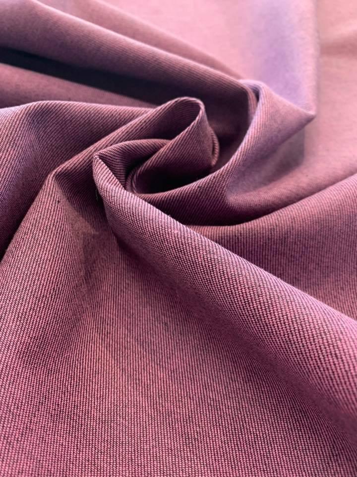 Purple/ Indigo Reversible Denim