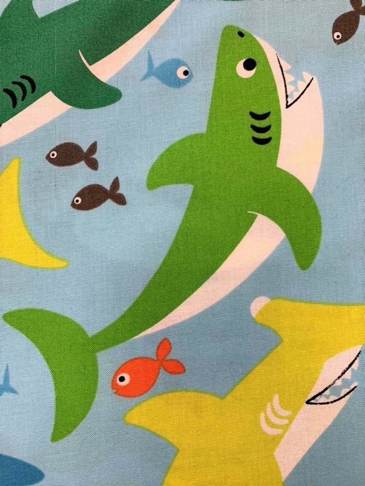 Big Bites Shark Print