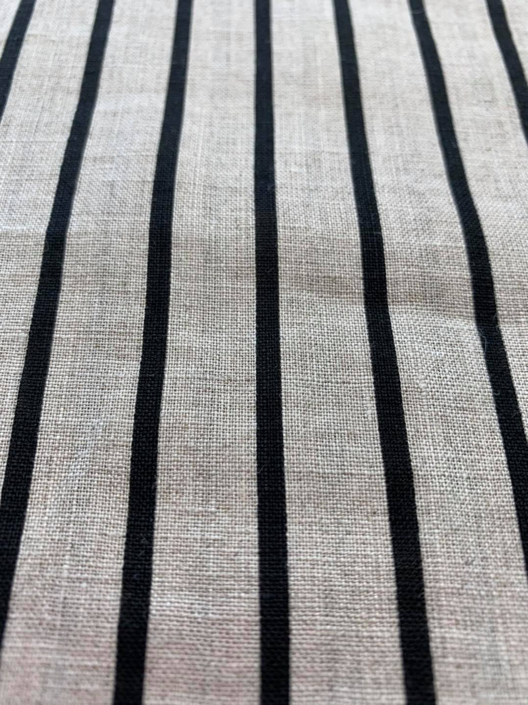 Natural with Black Stripe