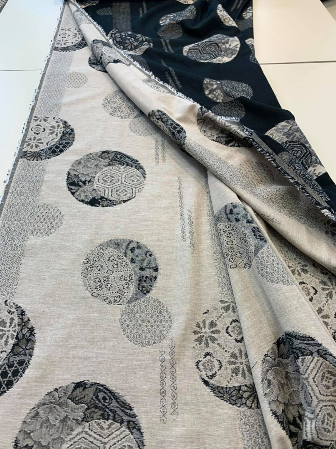 Suspended Moon Reversible Jacquard