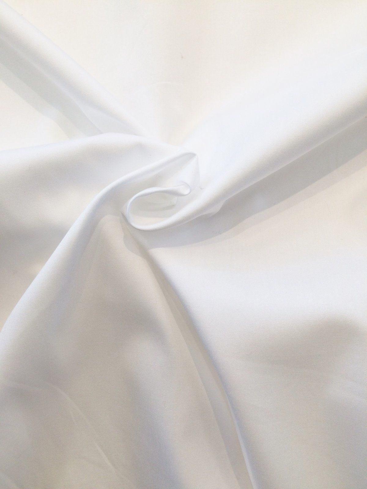 White Pinpoint Oxford Shirting
