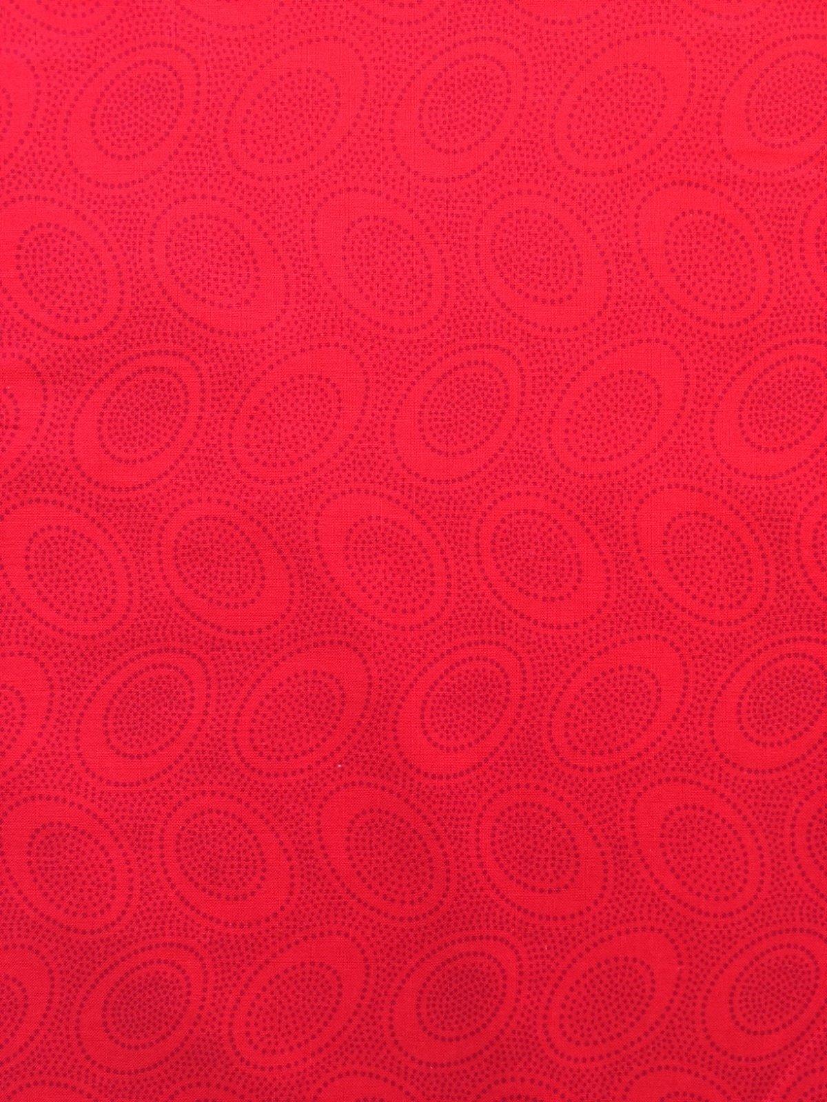 Aboriginal Dot in Red: Kaffe Fassett
