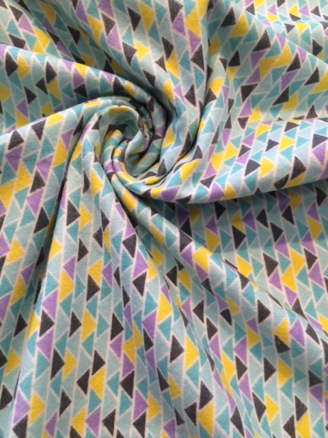 Triangles Cotton Flannel
