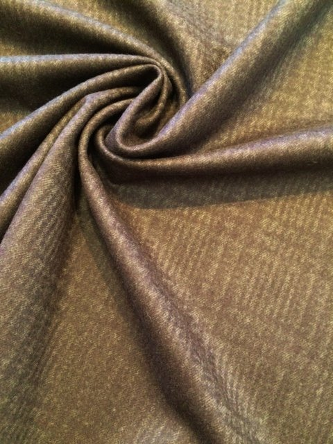 Brown on Brown Window Pane Cashmere